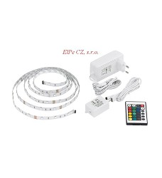 Svítidlo EGLO 92062 LED STRIPES-BASIC LED-RGB 14,4W (60 LED) INKLUSIV
