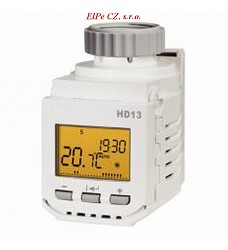 HD13-L hlavice digit�ln� termostatick�